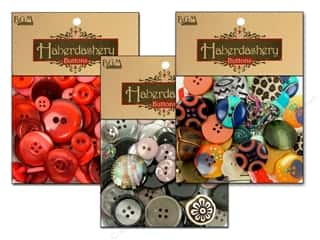 Scrapbooking Sale: Buttons Galore Haberdashery Buttons, SALE $1.59-$5.69.