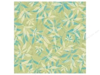 Flowers K&Company 12 x 12 in. Paper: K&Company Paper 12x12 Susan Winget Botanical Green Ferns (25 sheets)