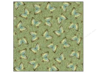 Kelly's K&Company 12 x 12 in. Paper: K&Company Paper 12x12 Susan Winget Nature Foil Moth (12 sheets)