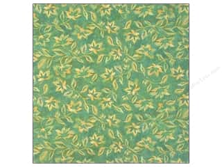 Clearance Blumenthal Favorite Findings: K&Co Paper 12x12 SW Nature Blue Fern (25 sheets)