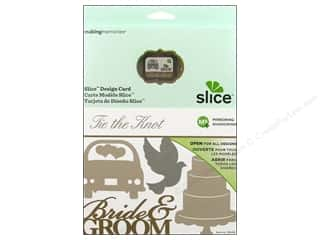 Dies Slice Design Cards: Slice Design Card Tie The Knot