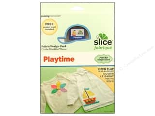 Angels/Cherubs/Fairies Sewing & Quilting: Slice Design Card Fabrique Playtime