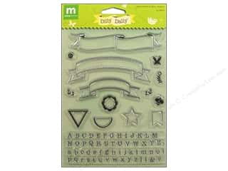 Making Memories Stamps Banners & Alphabet Dilly Dally