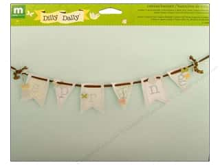 Projects & Kits inches: Making Memories Kit Canvas Banner Dilly Dally