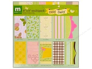 Scrapbooking & Paper Crafts: Making Memories Paper Pack 8x8 Speclty Dilly Dally