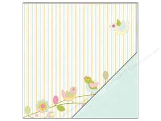 "Making Memories Paper 12""x 12"" Dilly Dally Birds"