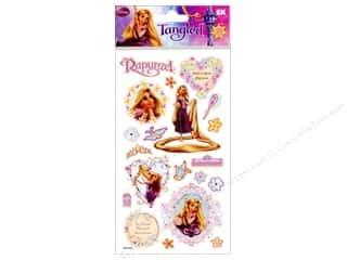 Disney Stickers: EK Disney Sticker Puffy Rapunzel