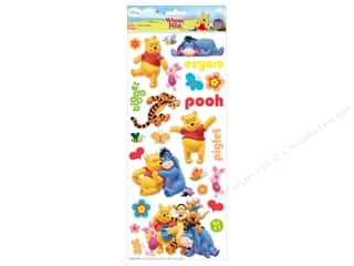 EK Disney Sticker Large Pooh and Friends