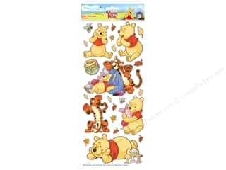 Licensed Products Scrapbooking & Paper Crafts: EK Disney Sticker Large Pooh