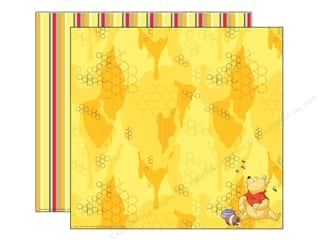 EK Paper 12x12 DS Disney Pooh Eating Honey (25 sheets)