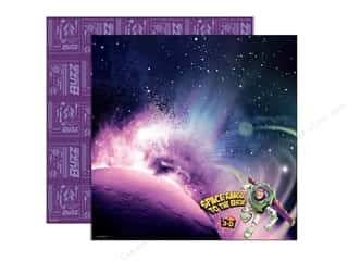 Brandtastic Sale Ranger: EK Paper 12x12 DS Disney Buzz In Space (25 sheets)