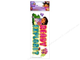 Nickelodeon Sticker Title Dora Ready To Explore