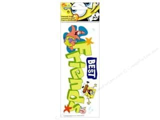 Nickelodeon Sticker Title Spongebob Best Friends