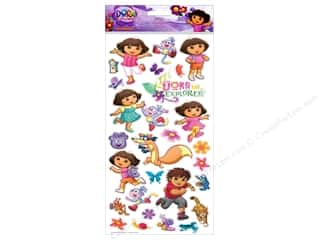 Nickelodeon Sticker Large Flat Dora