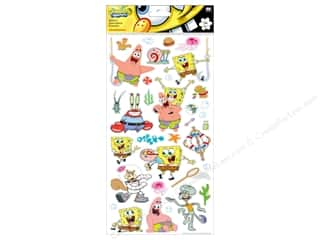 Nickelodeon Sticker Large Flat Spongebob
