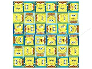 Nickelodeon Paper 12x12 Spongebob Faces (25 sheets)