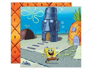 Nickelodeon Paper 12x12 DS Spongebob Scene (25 sheets)