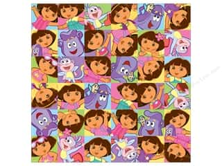Nickelodeon Paper 12x12 Dora Faces (25 sheets)