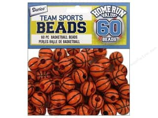 Darice Bead Basketball Team Sport Value Pack 60pc