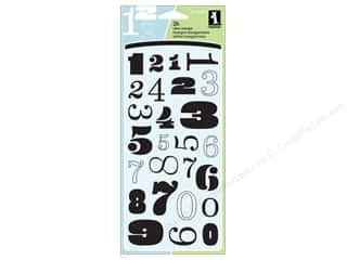 Inkadinkado Clear Stamp Numbers Galore