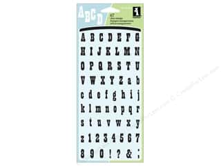 Inkadinkado Clear Stamp Wild West Alphabet