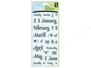 Inkadinkado Clear Stamp Calendar Of Events