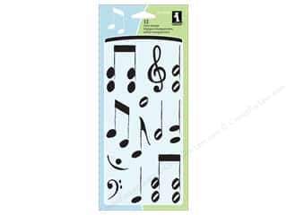 Inkadinkado Clear Stamp Musical Notes
