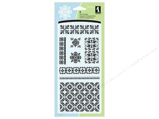 Inkadinkado InkadinkaClings Stamp Posh Motifs and Trim
