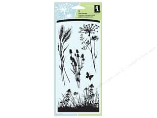 Inkadinkado InkadinkaClings Clear Stamp Meadow