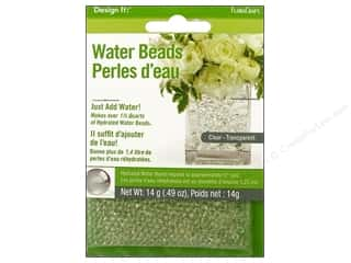 Anniversaries FloraCraft Water Beads Dehydrated: FloraCraft Water Beads Dehydrated Clear