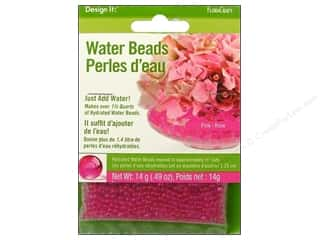 Graduations Floral Supplies: FloraCraft Water Beads Dehydrated Pink