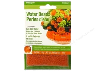 Graduations Floral Supplies: FloraCraft Water Beads Dehydrated Orange