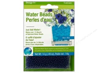 Graduations Floral Supplies: FloraCraft Water Beads Dehydrated Blue