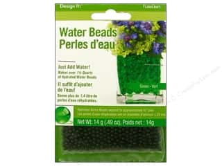 Floral Supplies Anniversaries: FloraCraft Water Beads Dehydrated Green