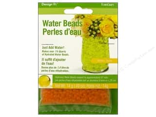 Floral Supplies Anniversaries: FloraCraft Water Beads Dehydrated Yellow