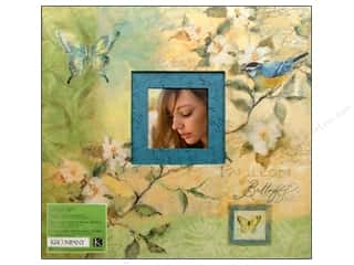 K&Co Scrapbook Album 12x12 SW Botanical