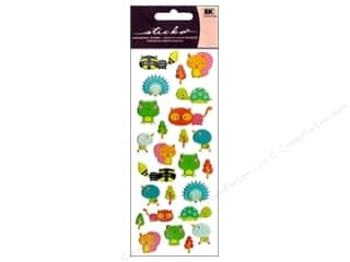 Animals inches: EK Sticko Stickers Puffy Animal Friends