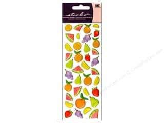 EK Sticko Stickers Puffy Fruit Icons