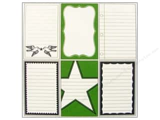 Cards & Envelopes  2.5 x 2.5: Jenni Bowlin Journaling Card Set Varsity Line