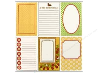 Cards &amp; Envelopes  2.5 x 2.5: Jenni Bowlin Journaling Card Set Front Porch