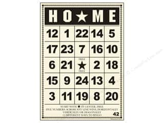 "Jenni Bowlin Bingo Cards Bulk 5""x 7"" Home (10 pieces)"