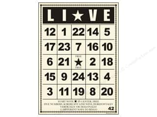 Jenni Bowlin Bingo Cards Bulk 5&quot;x 7&quot; Live (10 pieces)