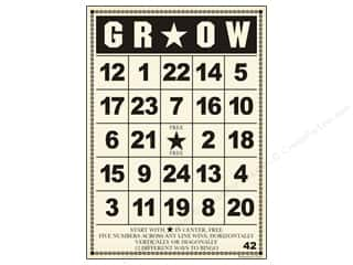 "Jenni Bowlin Bingo Cards Bulk 5""x 7"" Grow (10 pieces)"