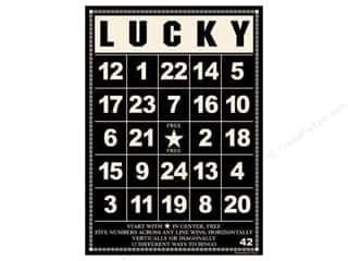 "Cards: Jenni Bowlin Bingo Cards Bulk 5""x 7"" Lucky Black (10 pieces)"