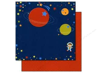 Bo Bunny Paper 12x12 Blast Off Orbit (25 sheets)