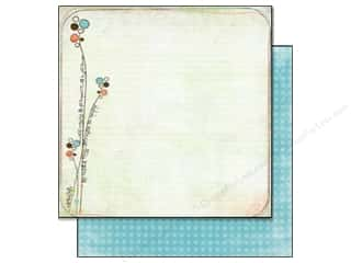 Bo Bunny Paper 12x12 Ad Lib Scribbles (25 sheets)