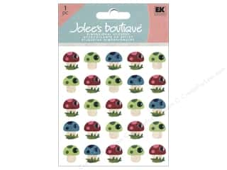 Jolee&#39;s Boutique Stickers Repeats Baby Mushrooms
