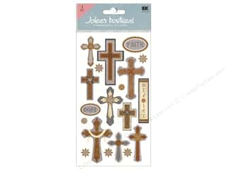 Religious Subjects Stickers: Jolee's Boutique Stickers Large Faith Hope and Rejoice