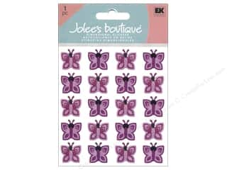 Jolee's Boutique Stickers Repeats Purple Butterflies