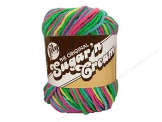 Lily Sugar 'n Cream Yarn  2 oz. #2600 Psychedelic